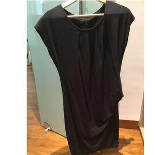 Spring maternity bamboo fibre dress
