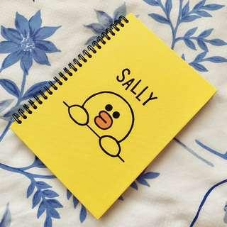 Authentic Line Sally Notebook A5 size