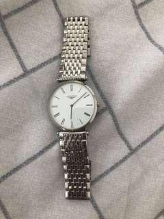Longines extra slim men's luxury watch