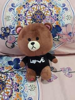 Line Love bear toy