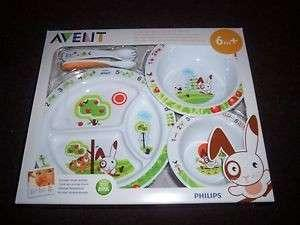 New Set - Philips Avent Toddler Mealtime Set