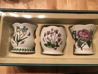 Portmeirion Botanic Garden Set of 3 Mini Votives in Gift Box