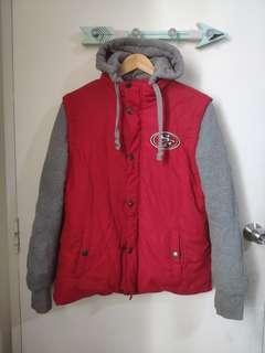 NFL Pro Line San Francisco 49ers Varsity Jacket
