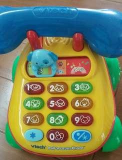 Vtech Telephone Pull-Toy