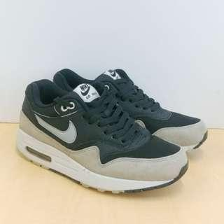 Sepatu Nike Air Max 1 Suede Black White Light Bone ORI Sz 41