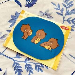 Authentic Line Mousepad <Brown>