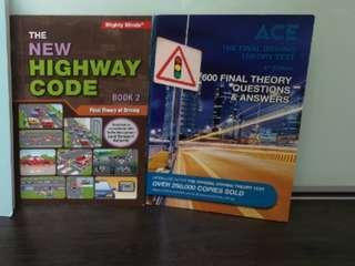 Mint Condition - For FTT Driving Theory Books