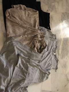 4 pieces Preloved maternity dress ( size M & L )