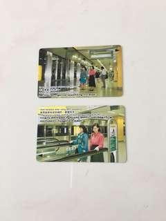 🚚 SMRT Card - Promotions Sale- Train Station (2 cards)