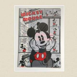 Mickey Mouse A4 File