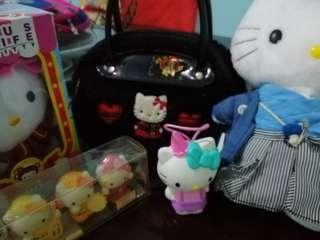 Take All Hello Kitty Bag and Dolls
