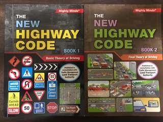 The New Highway Code Book 1&2. 6th Edition.