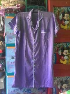 piyama satin purple