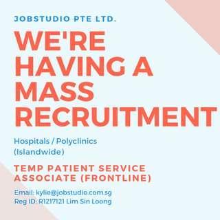 TEMP JOBS (Healthcare)