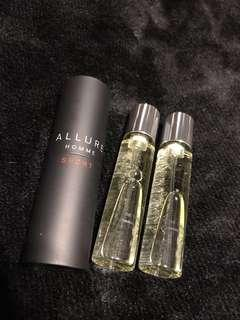 🚚 New CHANEL Allure travel size with refills set