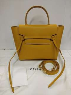 03b49c0dce Celine lugguage belt bag