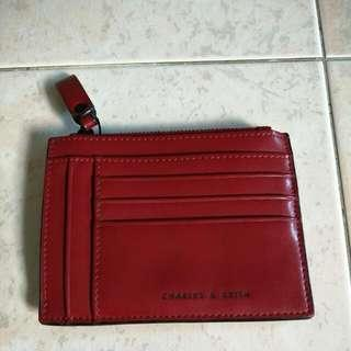 Charles &  Keith Card & Coin Wallet