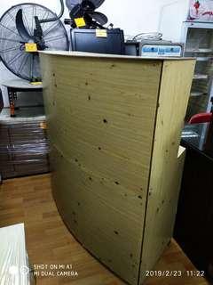 Curve Counter ( Boltless ) Custom Made
