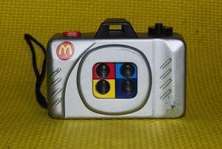 Mcdonalds Action Sampler Toy Camera