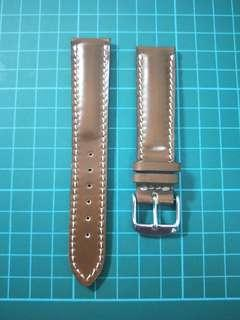 19mm shell cordovan leather strap