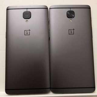 OnePlus 3T (6GB RAM/64GB ROM) *Face Unlock*Dual Sim*