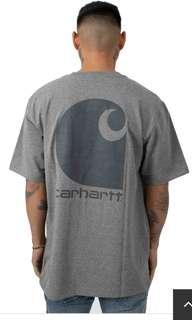 🚚 Sz S carhartt 103559 workwear C-logo shirt