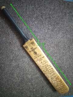 Miniature Cricke Bat 1954 Autograph