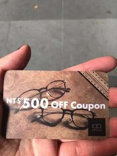 Owndays500元抵用券