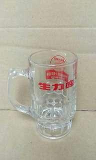 生力啤 啤酒杯 懷舊 收藏 7-eleven十週年
