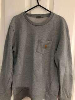 CARHARTT MENS GREY SWEATSHIRT
