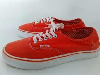 Vans Authentic Orange #SecondBrand #Original 💯