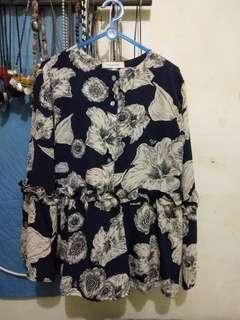 Mayoutfit Blouse Navy