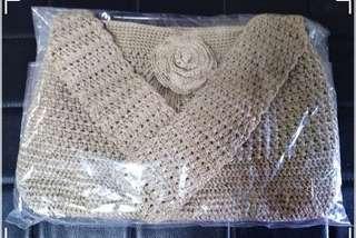 Brand new 100% custom made crochet bag