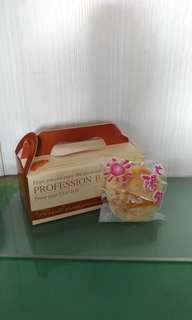 🚚 太陽餅 純手工製作(奶素)  一盒6入