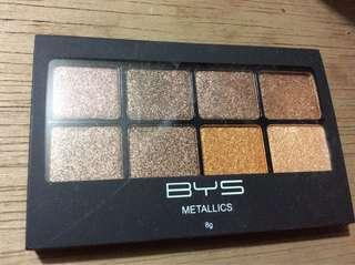 BYS metallics eyeshadow