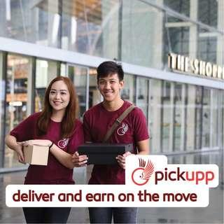 PICKUPP Delivery HERO (EARN UP TO $8-15 PER DELIVERY)