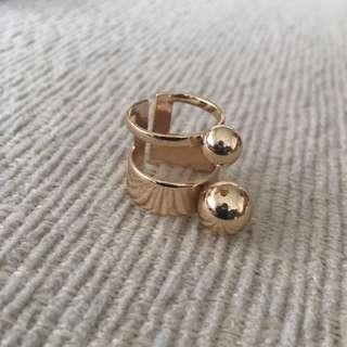 Mimco Gold Plated Ring