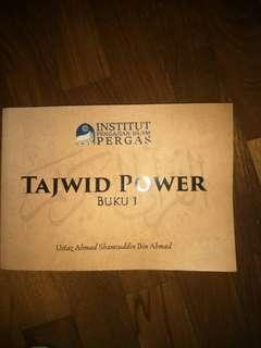 Tajwid Power. Buku 1.