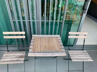 Ikea outdoor table set