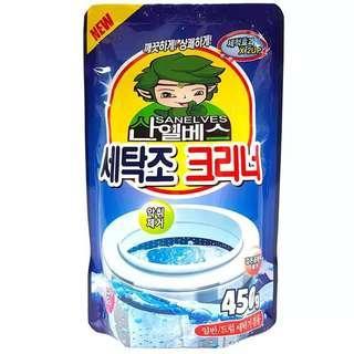 韓國洗衣機清洗劑450g