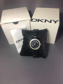 DKNY Watch / Jam DKNY Hitam