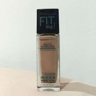 MAYBELLINE FIT ME MATTE PORELESS FOUNDATION 120 CLASSIC IVORY