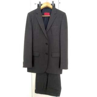 Hugo Boss Suit Dark Grey with 2 Trousers