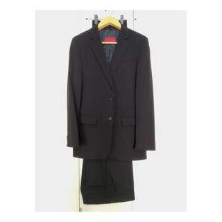 Hugo Boss Suit Dark Blue with 2 Trousers