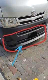 """🚚 Toyota Hiace Euro 4 """"Front Lip"""", """"Gear Knob"""", Rim Cover"""" & """"Dashboard Cover"""""""
