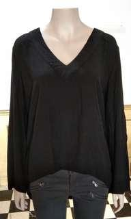 Top Zara woman black