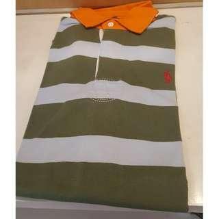 Polo Shirt Lengan Panjang Polo Ralph Lauren Pria