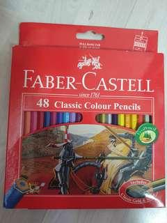 🚚 Faber Castell 48 classic colour pencil