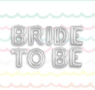 Bride To Be Balloons Set 單身派對氣球道具套裝