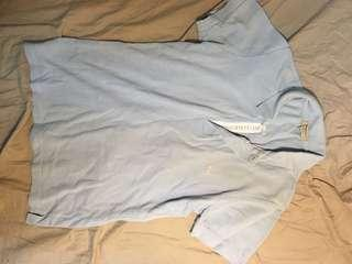 Burberry polo shirt size S 90% new 恤 unisex